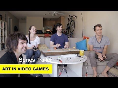 Art in Video Games, Los Angeles - Series Trailer - Art in Video Games - MOCAtv