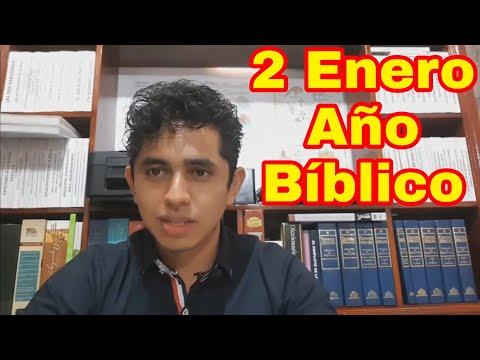 GENESIS 3, 4 y 5 AÑO BÍBLICO (Nelson Berrú) 2 De Enero