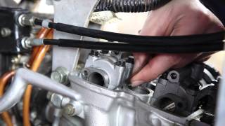 9. How to Check YZ250F Valve Clearances