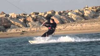 Nahariya Israel  city photos : Kite surfing near Nahariya, Israel high zoom