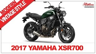 6. IT'S WOW!! 2017 Yamaha XSR700 Price Specs Review