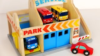 Video Parking Garage Services Playset for Kids!!! Tayo Bus and Car Toys for Children MP3, 3GP, MP4, WEBM, AVI, FLV Desember 2017