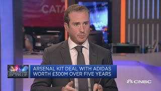 Adidas CEO: Believe there's 'so much upside' in Arsenal | Squawk Box Europe