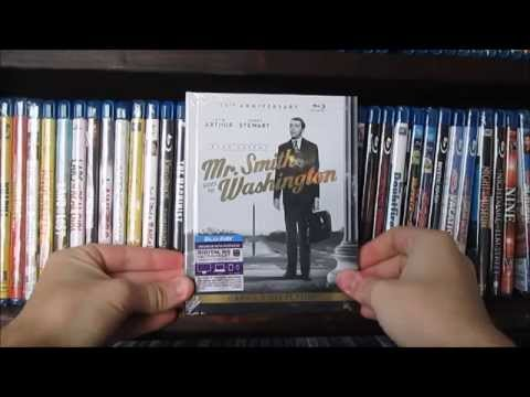 Mr. Smith Goes To Washington Digibook Blu-ray Unboxing