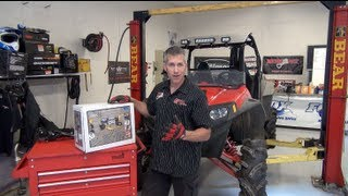 10. Polaris RZR Build Ep#8 #4500 Superwinch and KFI winch mount install PowerModz!