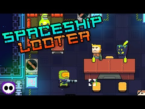 ANOTHER EPIC ROGUELIKE! ✪ Spaceship Looter Gameplay Walkthrough