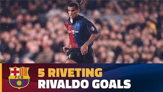 Compilation: Rivaldo's best goals for FC Barcelona