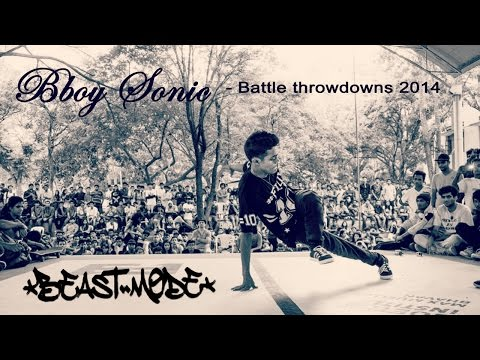 BBoy Sonic 2014 Battle throwdowns | BeastMode Crew India