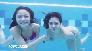 Download Video Sesi Paling Basah Saat Photo Underwater | Grand Finalist Miss POPULAR 2016 MP3 3GP MP4