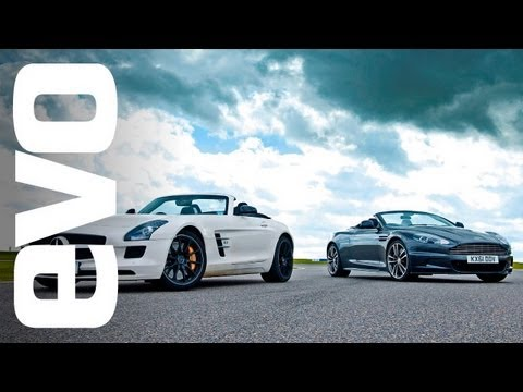 Aston Martin DBS vs Mercedes SLS