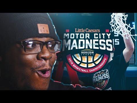 DETROIT MERCY HORIZON LEAGUE FINALS! MOTOR CITY MADNESS! NCAA BASKETBALL DYNASTY 10