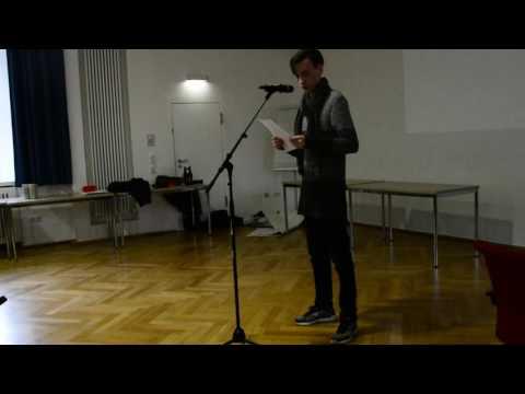 Poetry Slam von Luis Schulte
