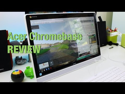 Acer Chromebase Touch review - An affordable all-in-one desktop with touchscreen capabilities