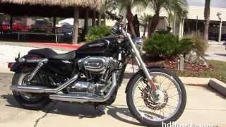 10. Used 2009 Harley Davidson Sportster 1200 Custom Motorcycles for sale