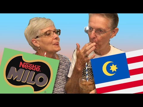 My American In-Laws Try Malaysian Milo For The First Time!