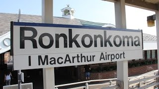 Ronkonkoma (NY) United States  city photo : Trains Station Tour at Ronkonkoma New York USA : MTA LIRR Long Island Rail Road Train