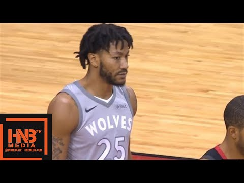 Houston Rockets vs Minnesota Timberwolves 1st Qtr Highlights / Game 1 / 2018 NBA Playoffs