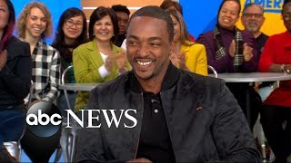 Video Anthony Mackie opens up about 'Avengers: Infinity War' MP3, 3GP, MP4, WEBM, AVI, FLV Februari 2019
