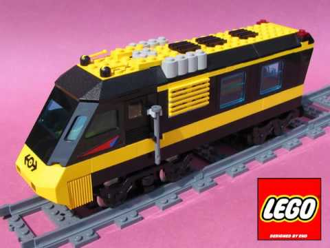 Lego City Cargo Train Deluxe Trains Construction
