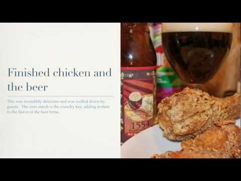 Belgium Beer-Brined Chicken