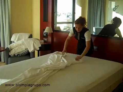 Por qué no se salen las sábanas de la cama en el Olympia Hotel Valencia