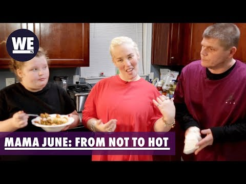 BTS In Mama June's Kitchen | Mama June: From Not To Hot | WE Tv