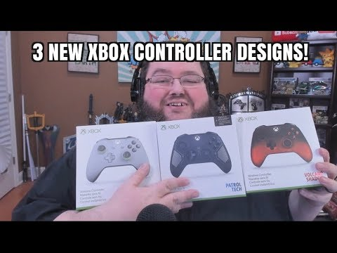THREE MORE XBOX CONTROLLER DESIGNS?