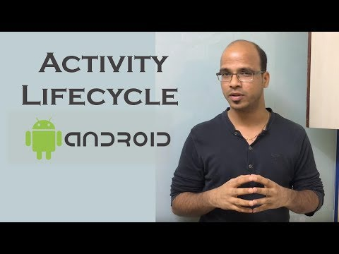 Activity Lifecycle in Android