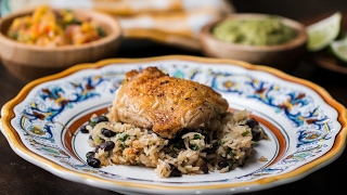 Zesty Lime Chicken And Black Bean Rice by Tasty