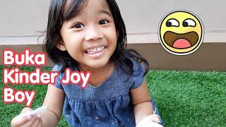 Video Kak Aruna Buka Kinder Joy Boy Isinya Truk - kinder joy surprise eggs MP3, 3GP, MP4, WEBM, AVI, FLV November 2018