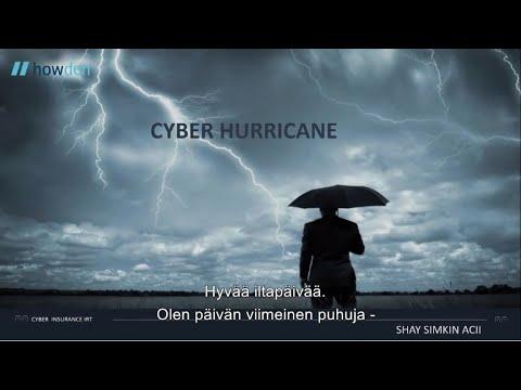 Hallitse kyberriskejä vakuutuksella | Shay Simkin, Howden Broking Group (tekstitetty suomeksi)