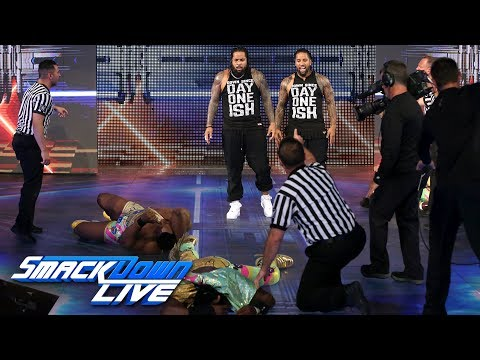 The Usos crash The New Day's SmackDown Tag Team Title Celebration: SmackDown LIVE, July 25, 2017
