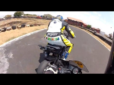 R15 (On-Board) Yamaha Race 150cc Only Choque Crash included HD