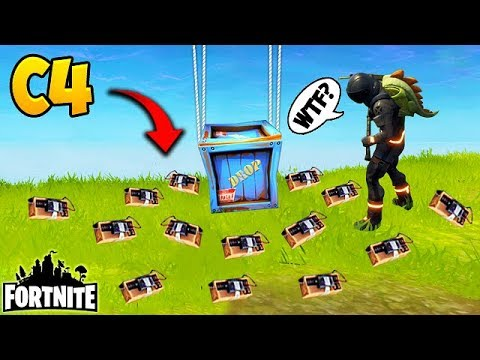 *NEW* EPIC C4 TROLL! - Fortnite Funny Fails and WTF Moments! #135 (Daily Moments) (видео)