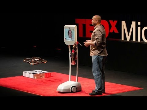 evans - Paralyzed by a stroke, Henry Evans uses a telepresence robot to take the stage -- and show how new robotics, tweaked and personalized by a group called Robot...