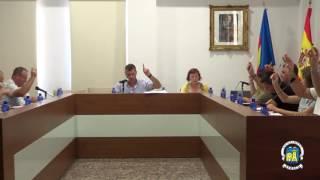 Sessió ordinària del ple de l'Ajuntament de Xeraco corresponent al mes de juliol de 2016