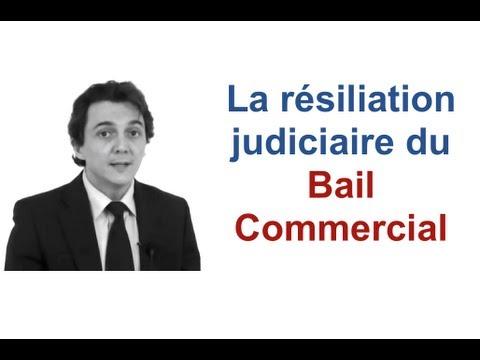 La résiliation judiciaire du Bail Commercial