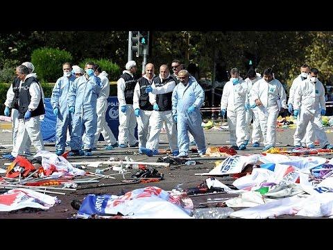 Τριήμερο εθνικό πένθος στην Τουρκία – 86 οι νεκροί από το τρομοκρατικό χτύπημα