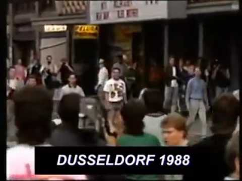 Old School Hooligans Fight - German vs England