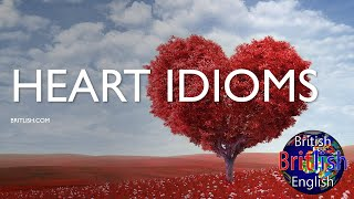 Heart Idioms, Learn English Idioms