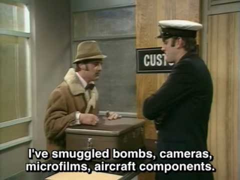 Monty Python - The Watch's Smuggler