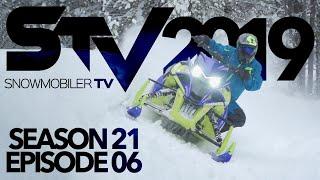 8. Snowmobiler TV - 2019 Episode 6 ( Ski-doo 900 Ace Turbo )