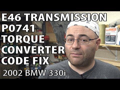 BMW E46 How To Fix P0741 Torque Converter Clutch Circuit Performance