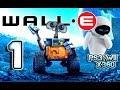 Wall e Walkthrough Part 1 ps3 X360 Wii Level 1 Welcome
