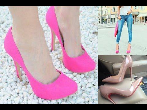 Zapatos en color rosa muy bonitos | Solo para mujeres