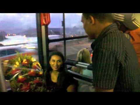 Pedido de casamento no ônibus em Vila Velha