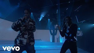 Video Huncho Jack, Travis Scott, Quavo - Eye 2 Eye (Live on Jimmy Kimmel Live!) MP3, 3GP, MP4, WEBM, AVI, FLV Januari 2018