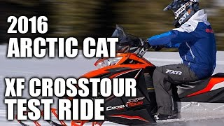 1. TEST RIDE: 2016 Arctic Cat XF 7000 CrossTour