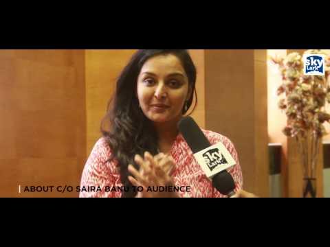 Interview With Manju Warrier About C/O Saira Banu