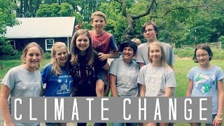 Local Teens Speak Out About Climate Change